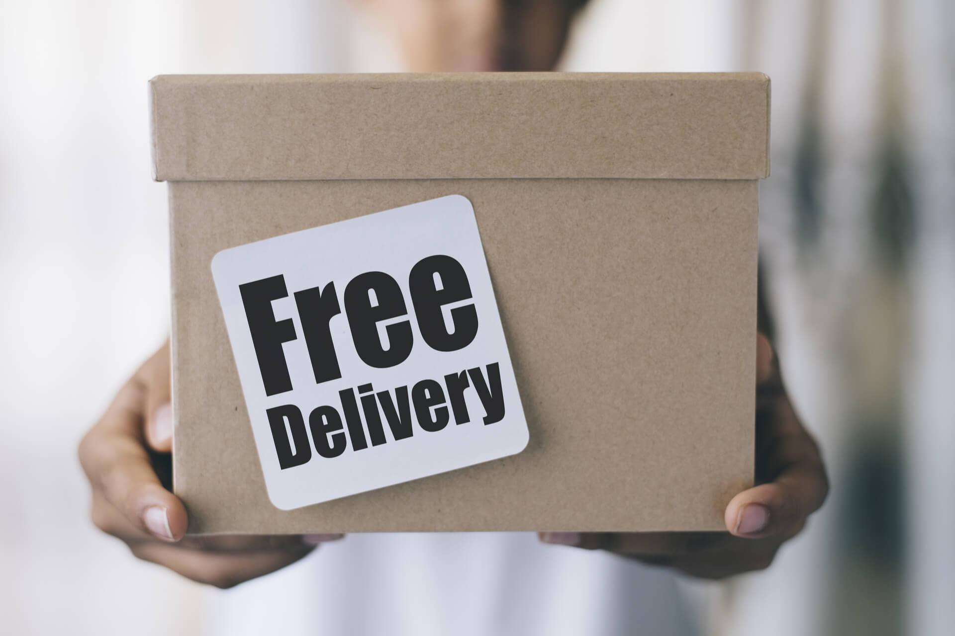 Consegna gratuita a domicilio
